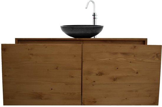 Badkamer Onderkast Hout : Bol aanbieding badkamermeubel onderkast massieve hout