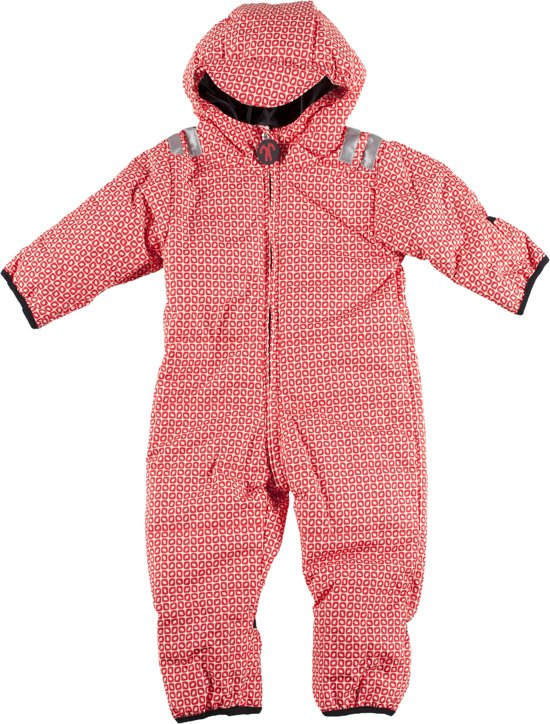 Ducksday skipak voor kinderen unisex Funky red - 68