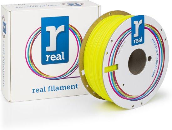 REAL Filament PLA fluoriserend geel 2.85mm (1kg)