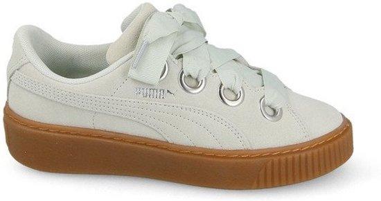 Mintgroen Puma Dames Kiss Suede Sneakers Maat 41 Platform LUVSzpGqM