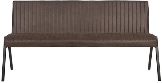 LABEL51 - Eettafelbank Matz 175 cm - Microvezel - Antraciet