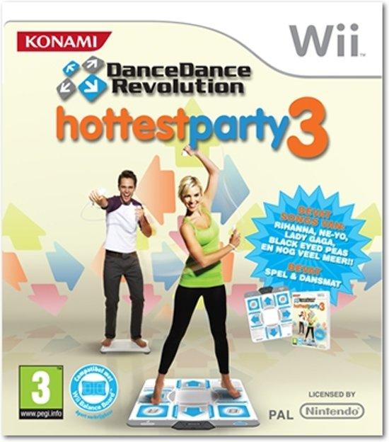 Dance Dance Revolution Hottest Party 3 incl. Dansmat kopen