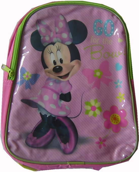 Rugzak van Minnie Mouse,go for the bow