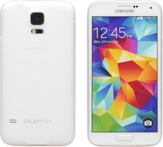 Ultra Slim Dunne Siliconen hoesje voor Samsung Galaxy S5 Neo - Transparant / Doorzichtig