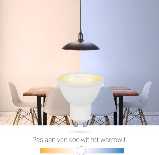 Smartwares 10.051.52 Slimme GU10 Lamp  – PRO Series – Regelbaar Wit licht - Uitbreiding