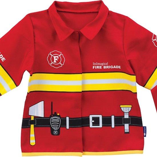 Afbeelding van Imaginarium FIREMAN SUIT  - Verkleedkleding Brandweer - Brandweerjas voor Kinderen - 3  tot 7 jaar - Lange Mouw speelgoed