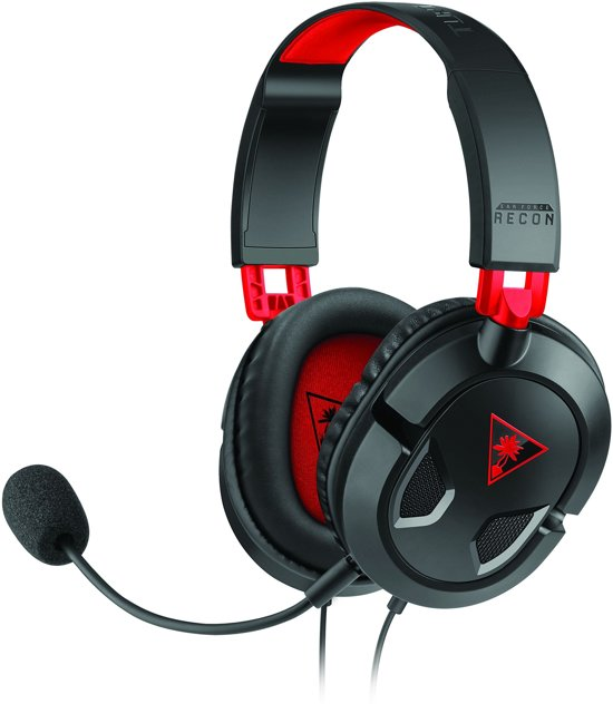 Turtle Beach Ear Force Recon 50 - Gaming Headset - Zwart + PS4 + Xbox One + Nintendo Switch + Windows + Mac + Mobiel
