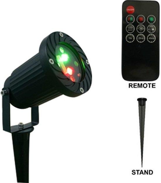 Laser feest en tuin verlichting - Hoe u een projector te installeren buiten ...