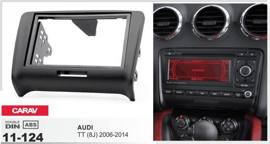 2-DIN AUDI TT (8J) 2006-2014 afdeklijst / installatiekit Audiovolt 11-124