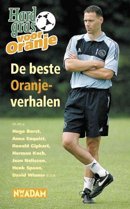 Cover van het boek 'Hard gras voor Oranje'