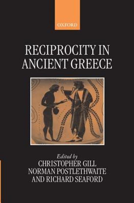 Reciprocity in Ancient Greece