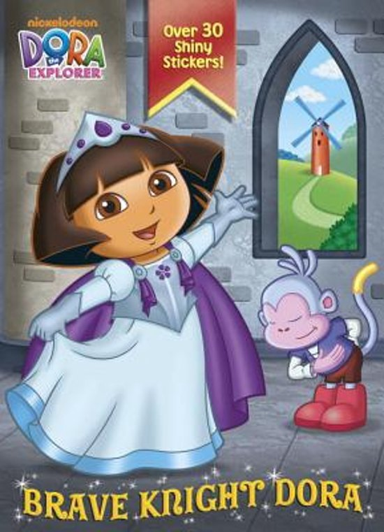 Boek cover Brave Knight Dora (Dora the Explorer) van Golden Books (Paperback)