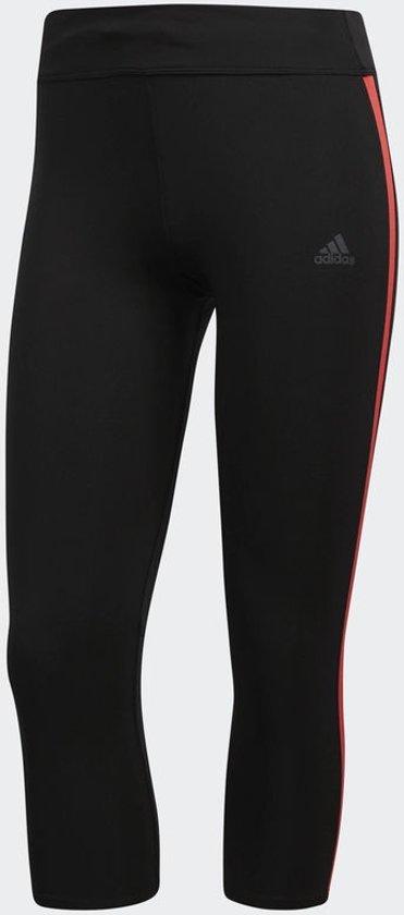 adidas Response 3/4 Tight Hardlooplegging Dames - Black/Red