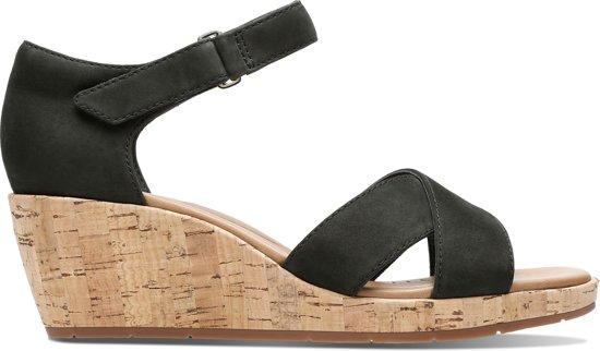 Clarks Dames Sandalen - Zwart - Maat 41