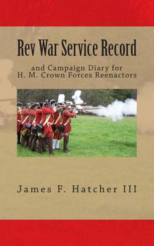 REV War Service Record