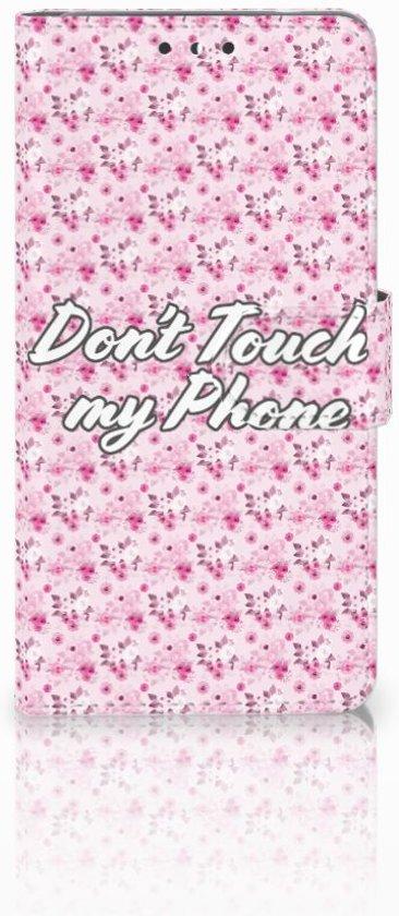 Nokia 5 Uniek Boekhoesje Flowers Pink DTMP