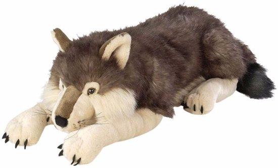 Pluche wolf 76 cm