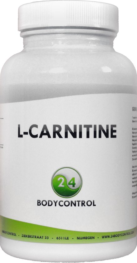 24Bodycontrol Acetyl L-carnitine vetverbranders - 90 capsules - Voedingssupplement