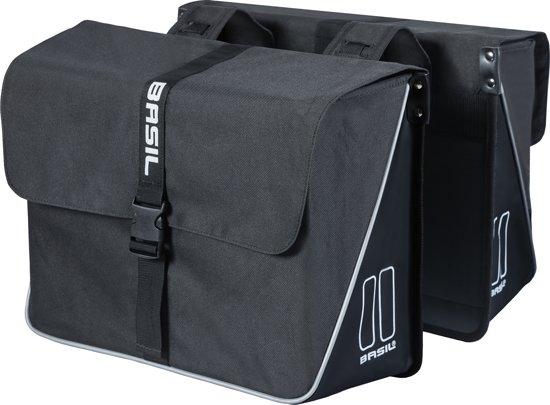 1a442ea6249 bol.com | Basil Forte Double Bag Fietstas - 35 liter - Zwart