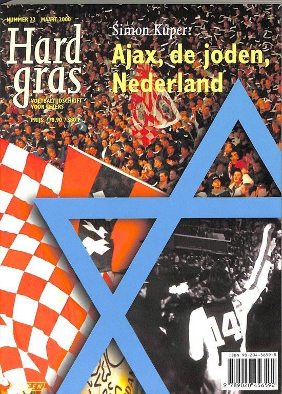 Boek cover Hard Gras 22: Ajax, De Joden, Nederland van Simon Kuper (Onbekend)