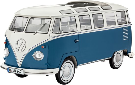 revell volkswagen t1 samba bus revell speelgoed. Black Bedroom Furniture Sets. Home Design Ideas