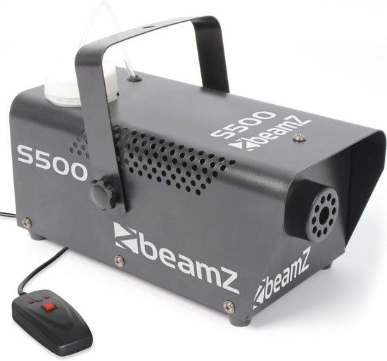 Beamz S500 Mini Rookmachine 500w Met Rookvloeistof