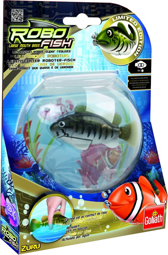 Robo Fish - Baars - Waterspeelgoed - Goliath