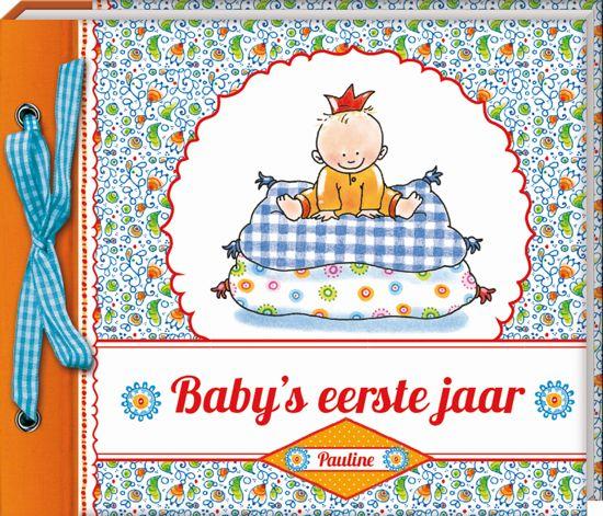 baby eerste jaar bol.| Baby's eerste jaar Pauline Oud   Hardcover   Plakboek  baby eerste jaar