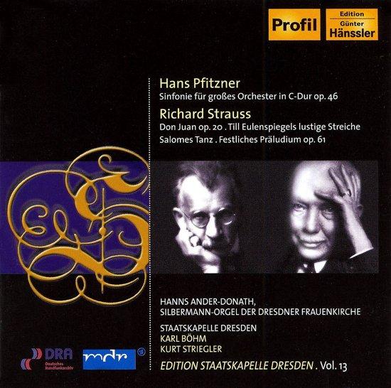 Pfitzner: Symph. In C, Strauss: Don Juan, ...