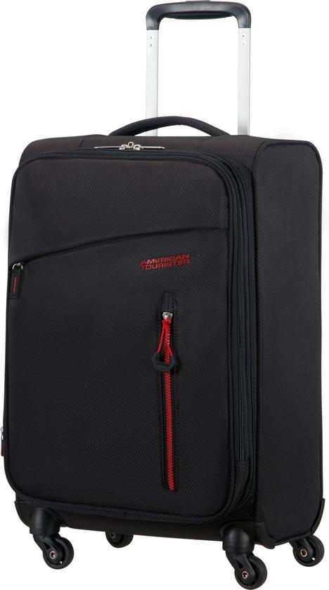 American Tourister reiskoffer - LITEWING SPINNER 55/20 EXP (Handbagage) Zwart