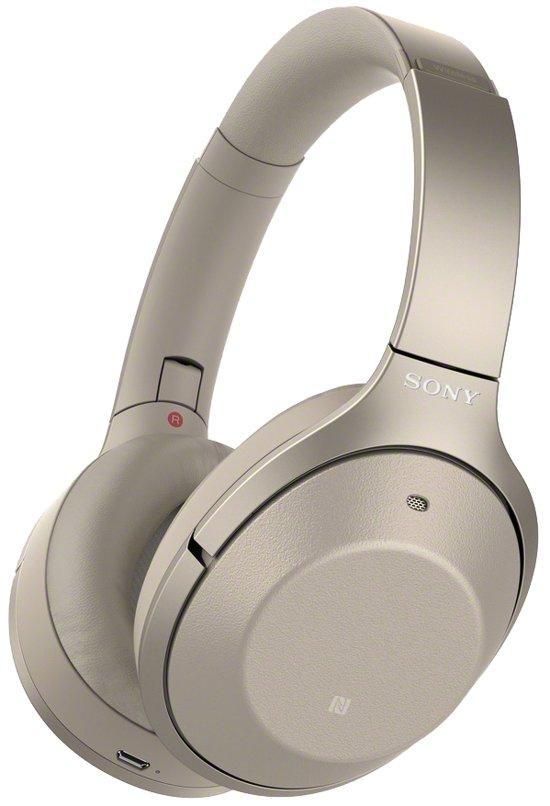 Sony WH-1000XM2 - Draadloze koptelefoon met Noise Cancelling - Goud