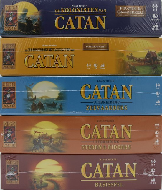 Kolonisten van Catan + Uitbreidingen