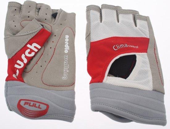 Reusch Nordic walking handschoen embla walking wit rood - Maat 7