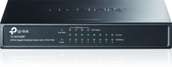 TP-Link TL-SG1008P - Switch