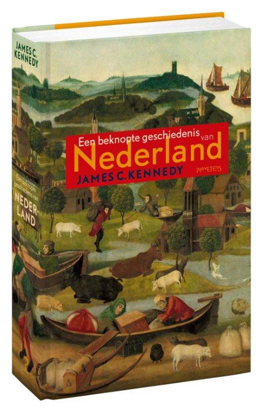 Boekomslag voor Een beknopte geschiedenis van Nederland