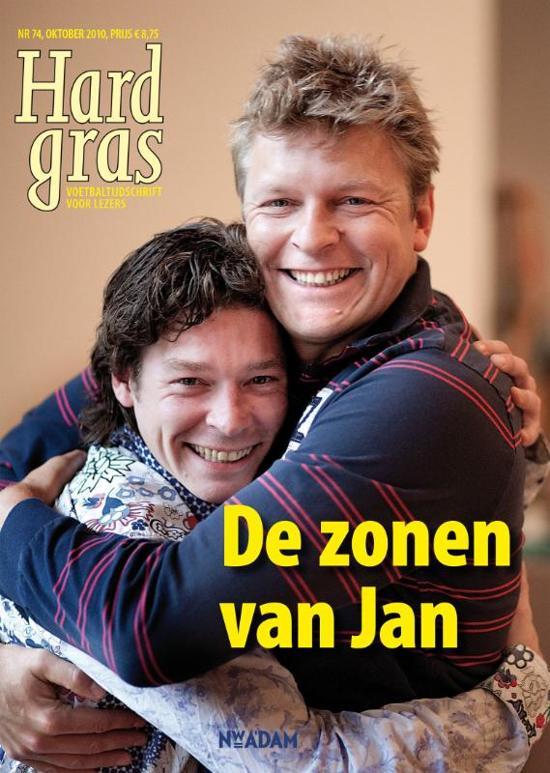 Cover van het boek 'Hard Gras 74 / De zonen van Jan'
