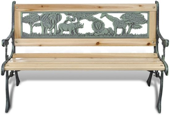 vidaXL Kindertuinbank 80 cm hout