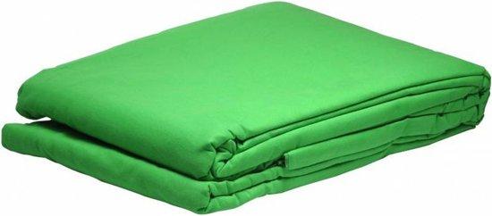 Bresser Y-9 achtergronddoek 3x6m Chromakey groen