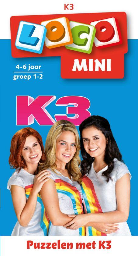 Boek cover K3 van Loco (Paperback)