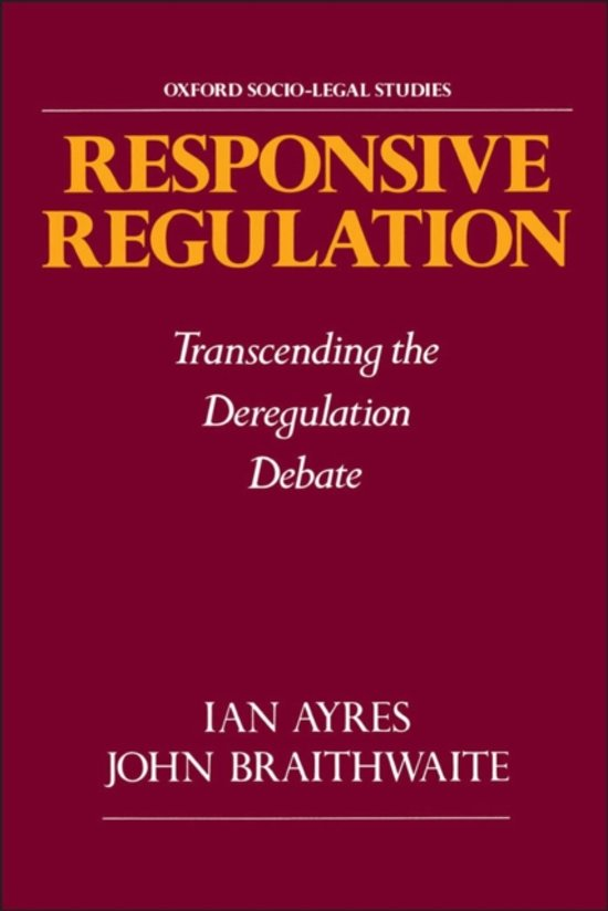 Responsive Regulation