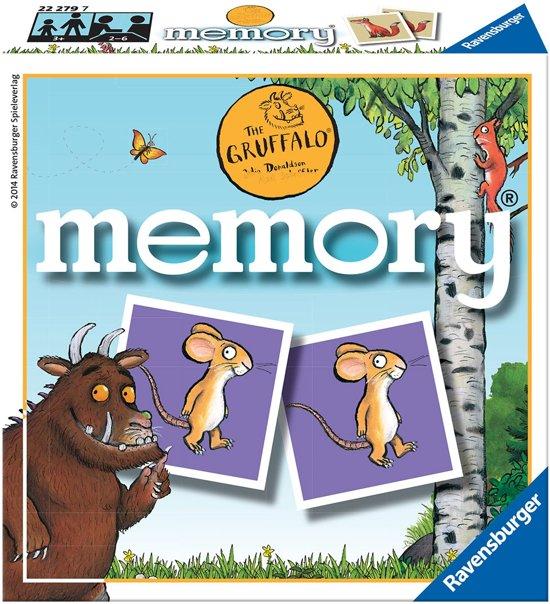 Afbeelding van het spel Ravensburger The Gruffalo mini memory®