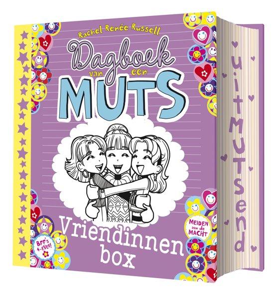 Boekomslag van 'Dagboek van een muts - Dagboek van een muts vriendinnenbox'