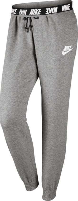 107d9b7b3b6 Nike Sportswear Advance 15 Joggingbroek Dames Trainingsbroek - Maat M -  Vrouwen - grijs