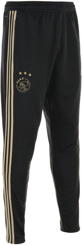 2018 beigeMaat Pant Adidas Training Uit Zwart Heren Ajax S 2019 qSzVMGUp
