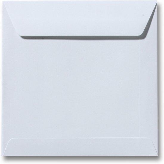Envelop 17 x 17 Zilvergrijs, 25 stuks