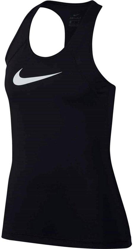 1e9ee23325d Nike Pro Tank Dames Sporttop performance - Maat L - Vrouwen - zwart/wit