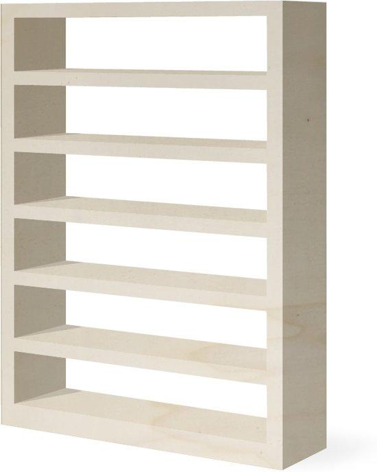 boekenkast aad multiplex interieur populier