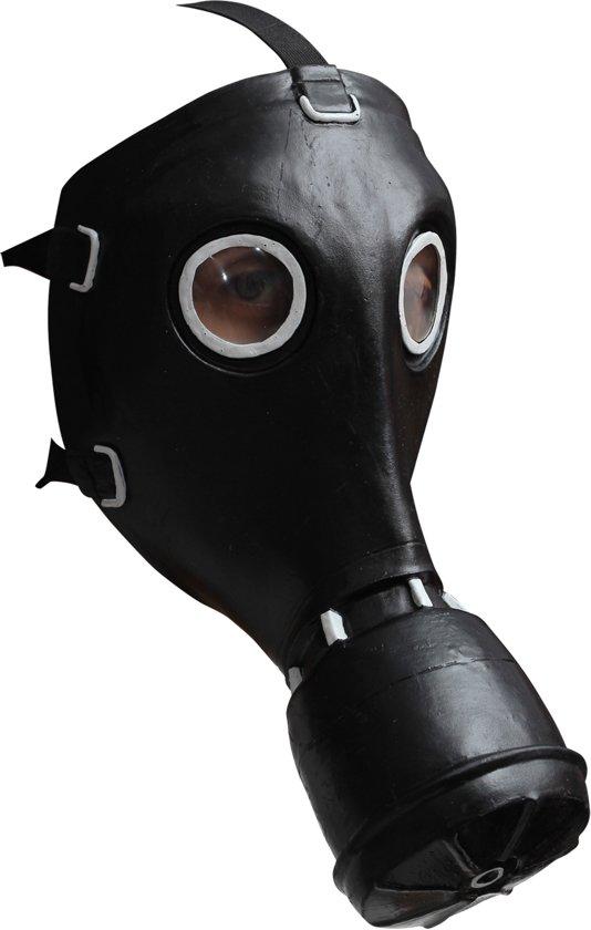 Zwart gasmasker voor volwassenen  - Verkleedmasker - One size