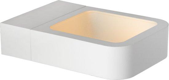 Lucide TRYWO - Wandlamp Buiten - LED - 1x7W 4000K - IP54 - Wit