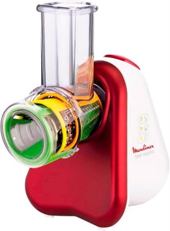 Moulinex fresh express 3 en 1 dj753510 snij en raspapparaat - Moulinex fresh express nectar ...